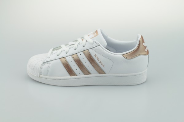 Superstar Foundation (Footwear White / Copper Metallic / Core Black)