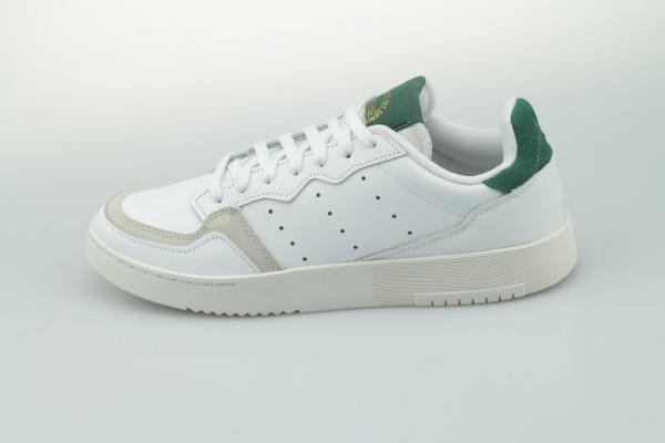 Supercourt (Footwear White / Footwear White / Collegiate Green)