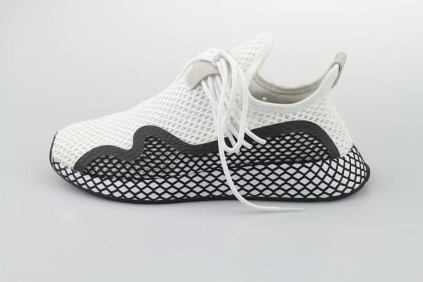 Deerupt Runner S (Footwear White / Core Black / Footwear White)