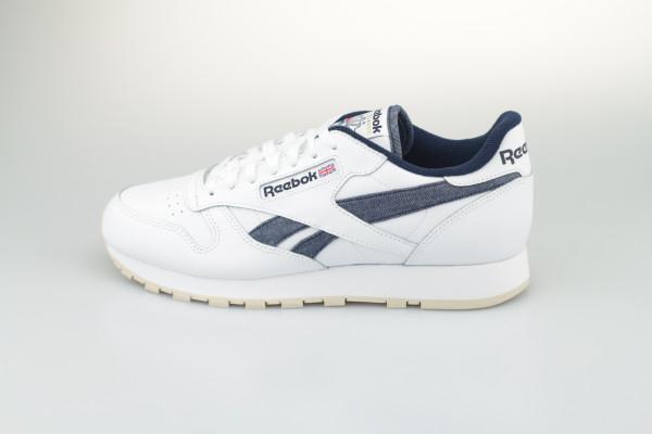 Reebok Classic Leather (White / Vecnav / Stucco)