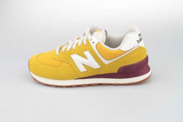 New Balance WL 574 VE2 (Yellow / Burgundy)