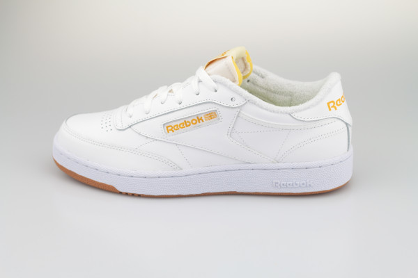 Club C 85 (White / Yellow )