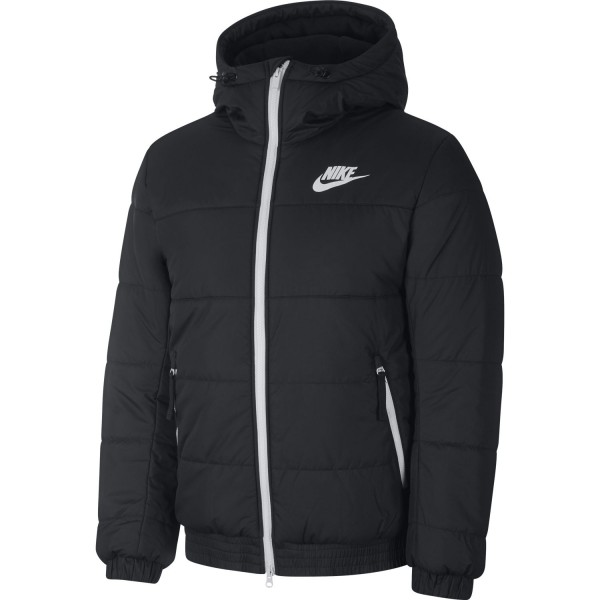 Sportswear Sythetic-Fill Full-Zip Jacket (Black / Anthacite / Wolf Grey / Sail)