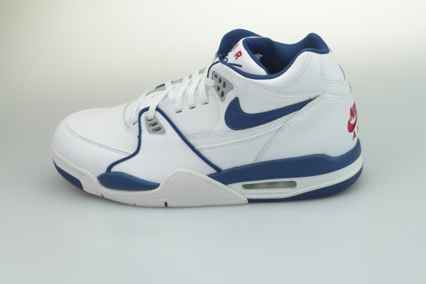 Air Flight 89 (White / Dark Royal Blue - Varsity Red)