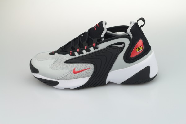 Zoom 2K (Black / Track Red - Grey - Fog White)