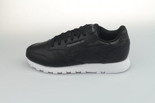 Classic Leather (Black / Black / White)