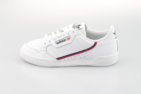 Continental 80 (Cloud White / Scarlet / Collegiate Navy)