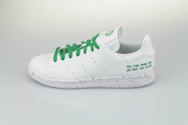 Stan Smith (Cloud White White / Cloud White / Green)