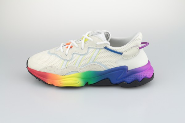 Ozweego Pride (Off White / Blue Tint / Core Black)