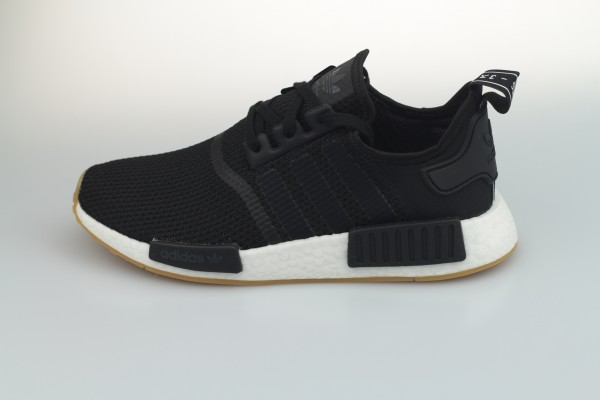 NMD_R1 (Core Black / Core Black / Gum Three)