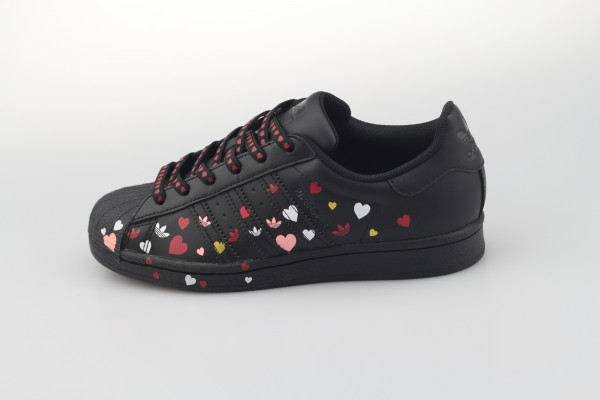 Superstar W (Core Black / Footwear White / Glory Pink)