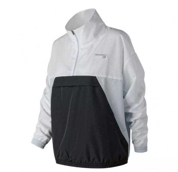 Wmns Athletics Windbreaker Pullover (Black)