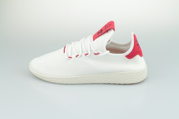 PW Tennis HU (Footwear White / Scarlet / Chalk White)