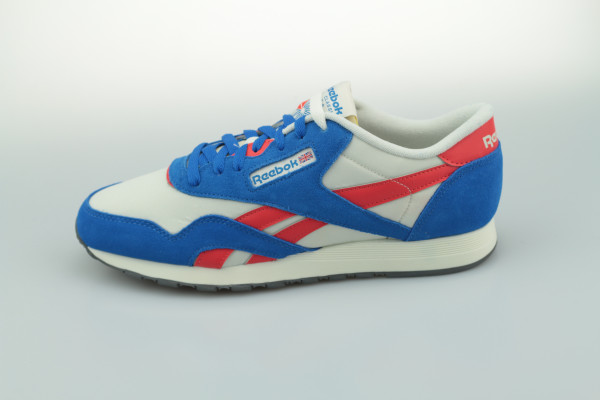 Classic Nylon (White / Blue / Red)