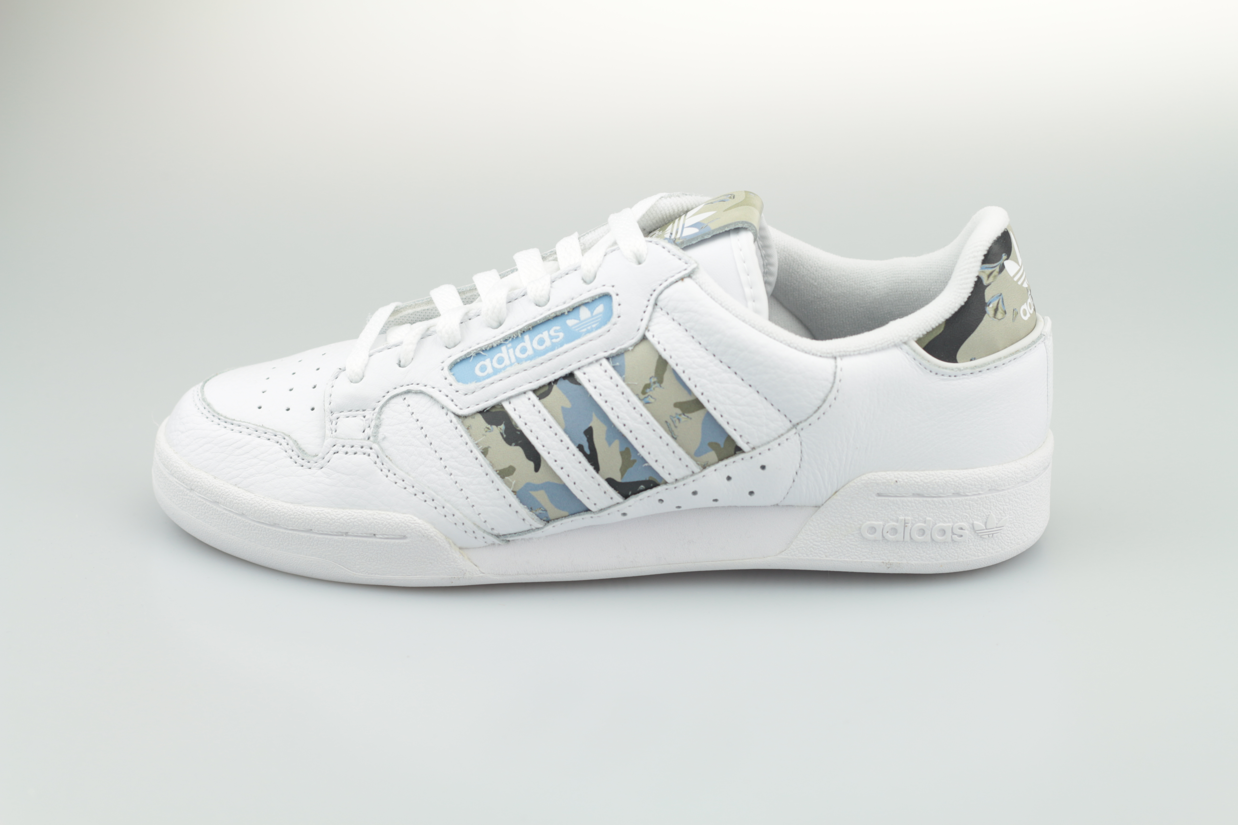 adidas Continental 20 Stripes White / Camouflage