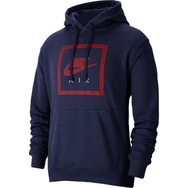 Nike Air Hoodie ( Blue Void / University Red )