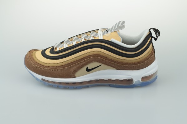 "Air Max 97 ""Shipping Box"" (Ale Brown / Black - Elemental Gold)"