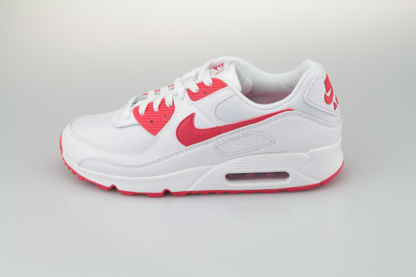 Nike Air Max 90 (White / Hyper Red)
