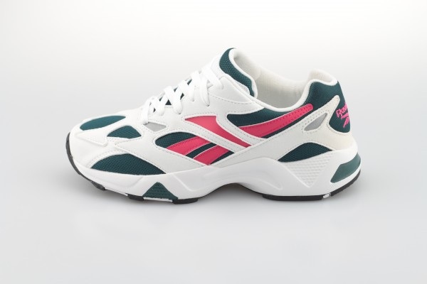 Aztrek 96 (White / Deep Teal / Blazing Pink)