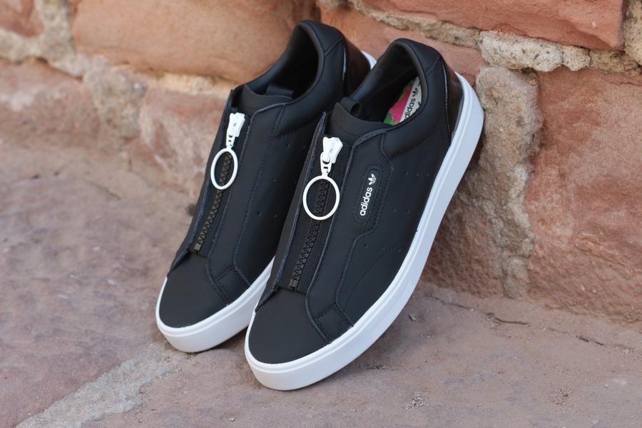 adidas-sleek-z-w-ef0695-core-black-cblack-crystal-whie-schwarz-weiss-5