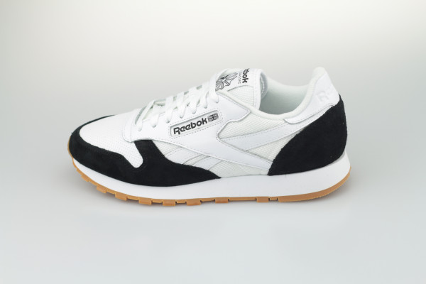 Reebok Classic Leather (White/Black/White)