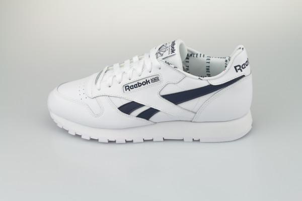 Reebok Classic Leather MU (White / White / Vecnav)
