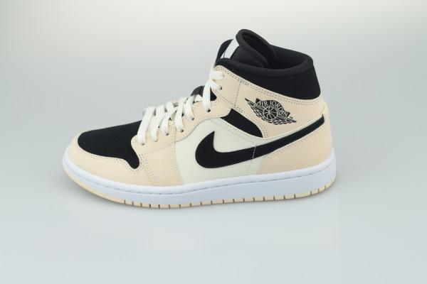 Nike WMNS Air Jordan 1 MID (Guava Ice / Black - Sail)