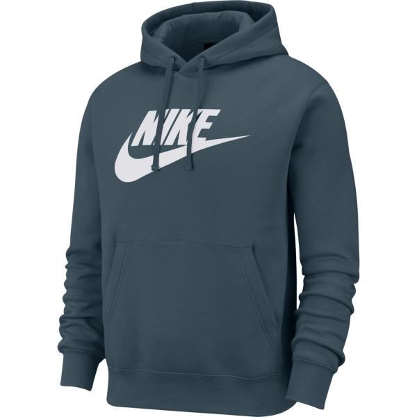 Nike Club Fleece Hoodie ( Ash Green / Ash Green )