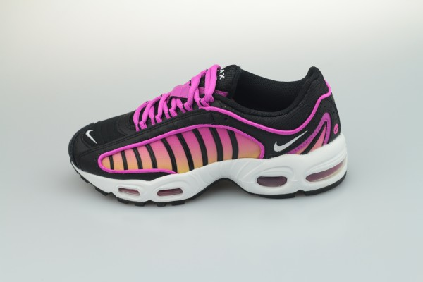 Wmns Air Max Tailwind IV (Black / White - Fire Pink - Dynamic Yellow)