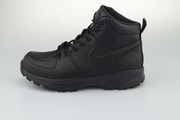 Nike Manoa Leather Boot (Black / Black - Black)
