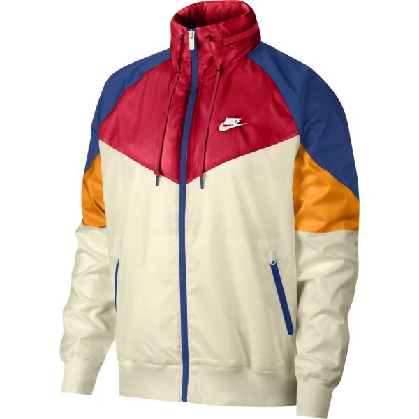 Sportswear Windrunner (Light Cream / University Red / White)