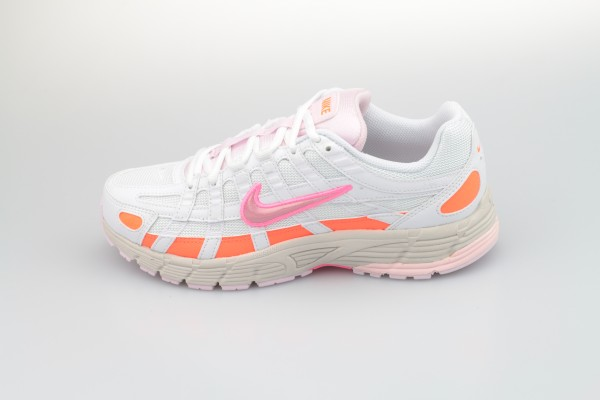 Wmns P-6000 (White / Digital Pink - Hyper Crimson)